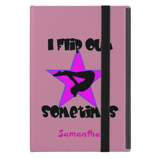I Flip out gymnast iPad Mini Case
