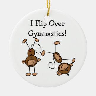 I Flip Over Gymnastics Christmas Ornament