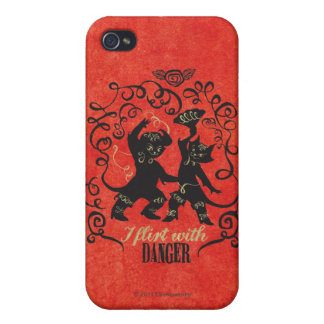I Flirt With Danger 2 Case For The iPhone 4