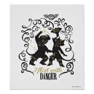 I Flirt With Danger 2 Poster