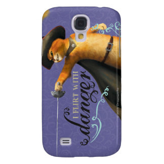 I Flirt With Danger (color) Galaxy S4 Case