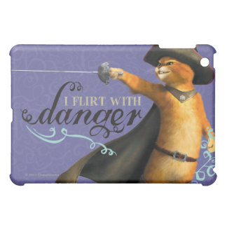 I Flirt With Danger (color) iPad Mini Cover