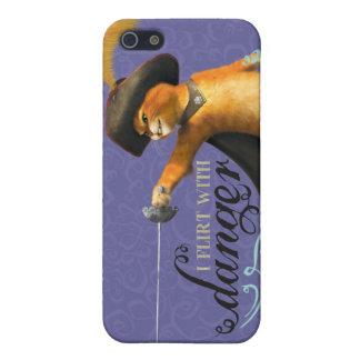 I Flirt With Danger (color) iPhone 5 Case