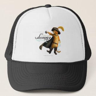I Flirt With Danger (color) Trucker Hat