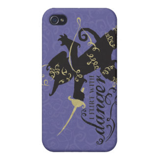 I Flirt With Danger iPhone 4/4S Case