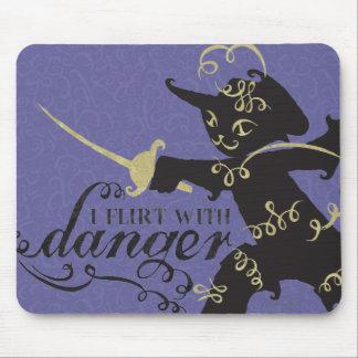 I Flirt With Danger Mouse Mat