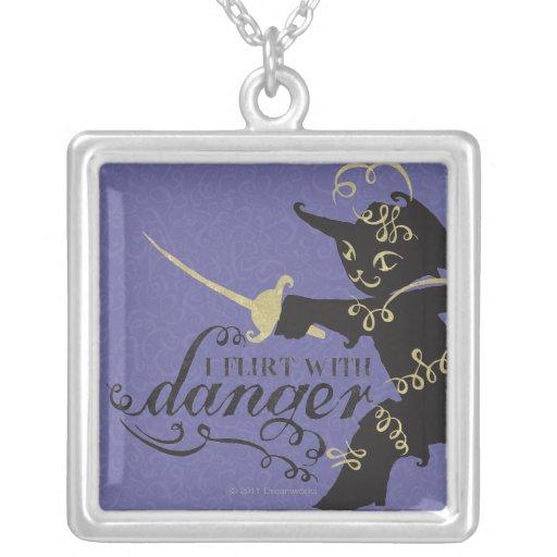 I Flirt With Danger Custom Necklace