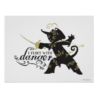 I Flirt With Danger Poster