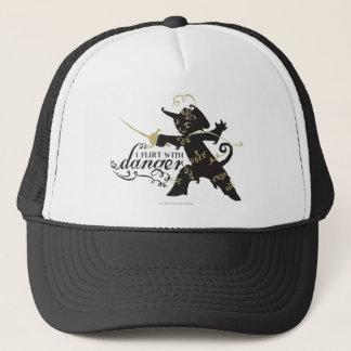 I Flirt With Danger Trucker Hat