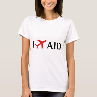 I Fly AID - Anderson Municipal Airport, Anderson, T-Shirt