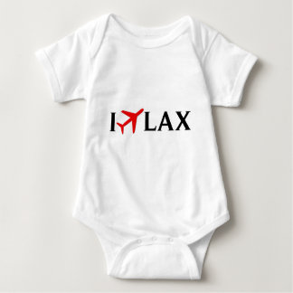 I Fly LAX - Los Angeles International Airport Baby Bodysuit