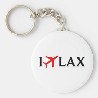 I Fly LAX - Los Angeles International Airport Key Chains