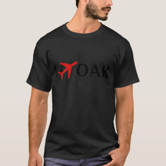 I Fly OAK - Oakland International Airport T-Shirt