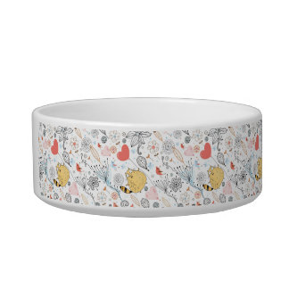 I fly with love Pet Bowl