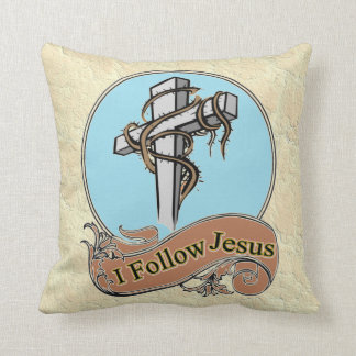 I follow Jesus Cushion