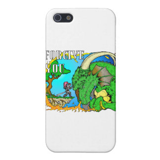 I Forgive Dragon iPhone 5/5S Cases