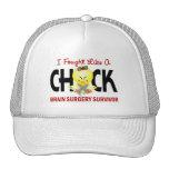I Fought Like A Chick 1 Brain Surgery Survivor Cap