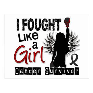 I Fought Like A Girl 26S Melanoma Post Card