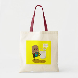 I found my chocolate tote bags