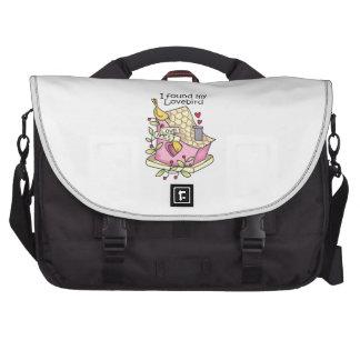 I Found My Lovebird Computer Bag