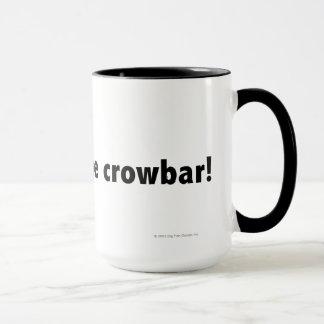 I found the crowbar! Black Mug