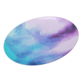 'I Found You' Colorful Abstract Print Plate