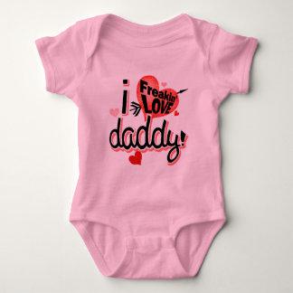 I Freakin Love Daddy! Baby Bodysuit