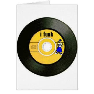 I Funk Greeting Card