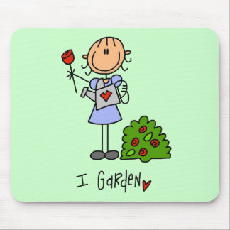 I Garden Tshirts and Gifts Mouse Pad