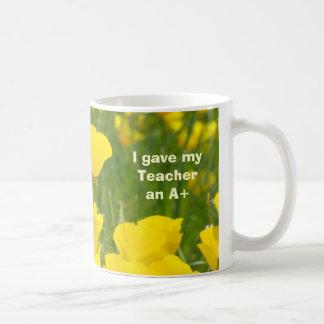 I gave my Teacher an A+ gifts Teachers Mugs
