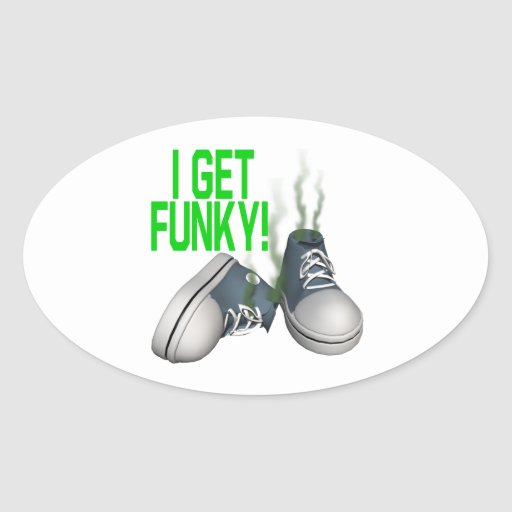 I Get Funky Sticker