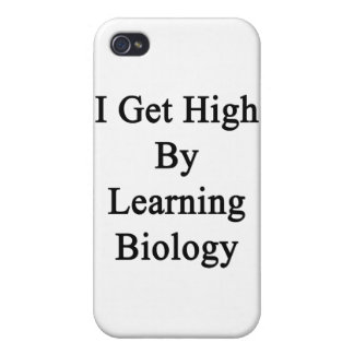 I Get High By Learning Biology Covers For iPhone 4