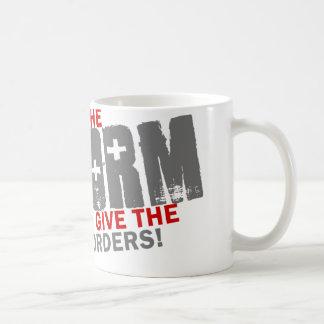 I give the orders coffee mug