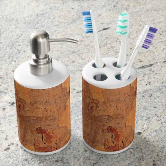 I give you my heart Lm Soap Dispenser And Toothbrush Holder