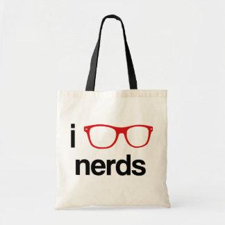 i glasses nerds tote bag