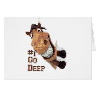 i go deep spot greeting cards