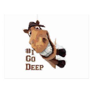 i go deep spot postcard