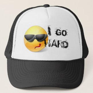 I GO HARD SNAPBACK CLUB flat bill hat