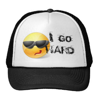 I GO HARD SNAPBACK CLUB flat bill hat