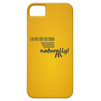 I Go Out Into The World Naturally With Curls iPhone 5 Cases