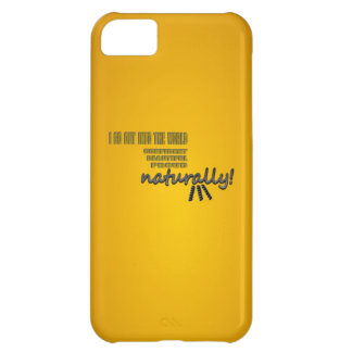 I Go Out Into The World Naturally With Curls iPhone 5C Case