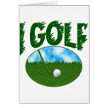 I Golf Card