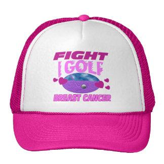 I Golf > Fight Breast Cancer Trucker Hat
