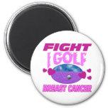 I Golf > Fight Breast Cancer Refrigerator Magnets