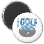 I Golf Fridge Magnets