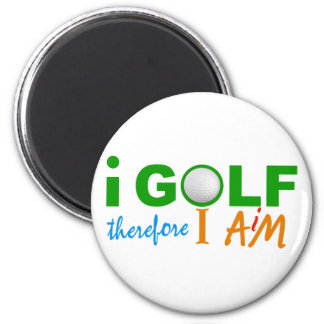 I GOLF magnet