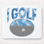 I Golf Mousemat
