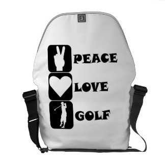 I Golf What s Your Super Power Messenger Bag