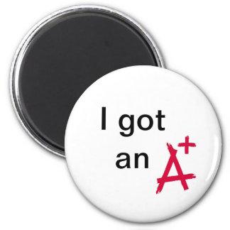 I got an A+ Magnet