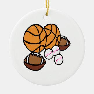 I Got Balls Ornaments
